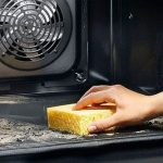 как помыть духовку от нагара фото