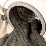 стирка свитера в стиральной машине фото