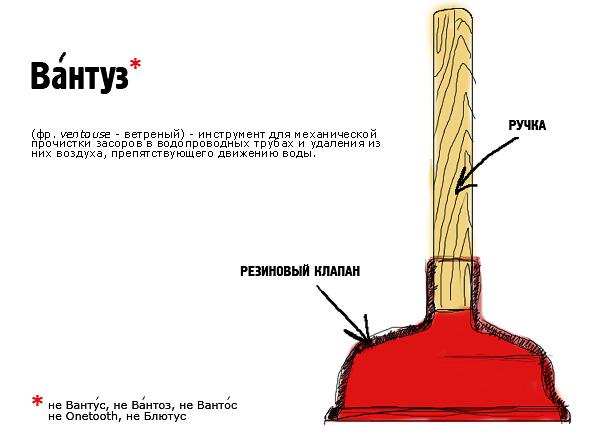 фото строяния простого вантуза