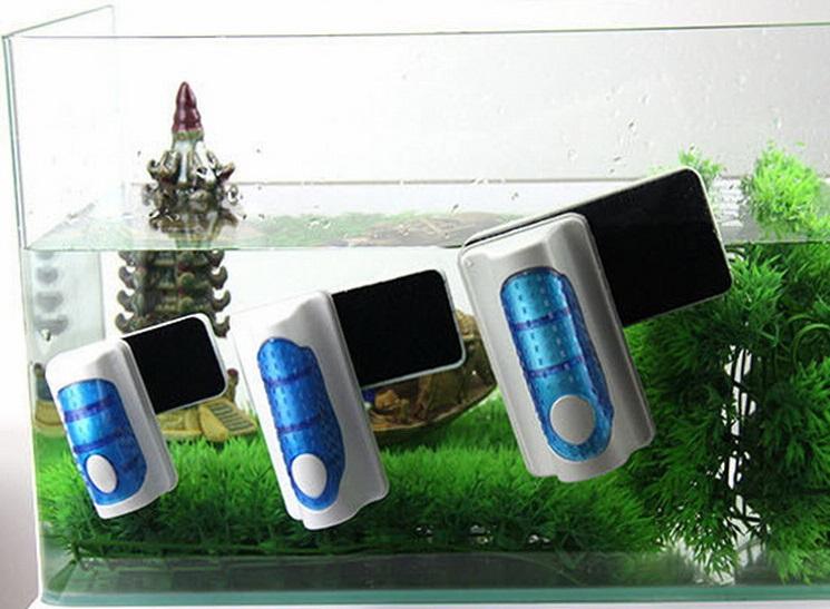 магнитный скребок для очистки аквариума
