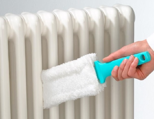 фото щетки для очистки радиаторов отопления от пыли и грязи