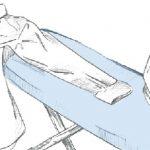 техника глажки рукавов