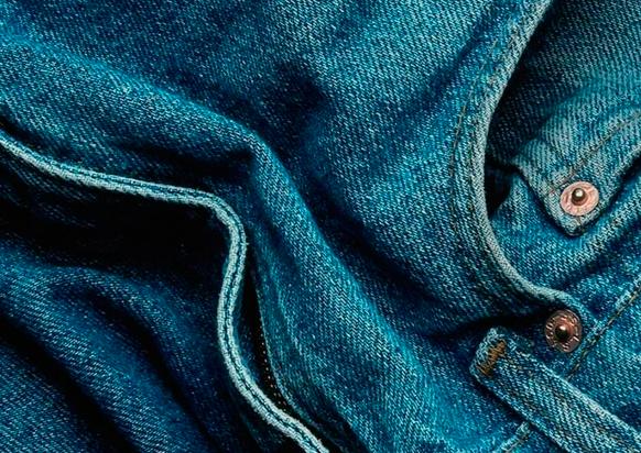 фото как убрать ржавчину с джинсов