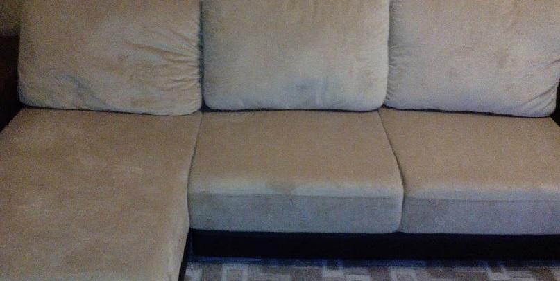 фото сушки дивана после стирки
