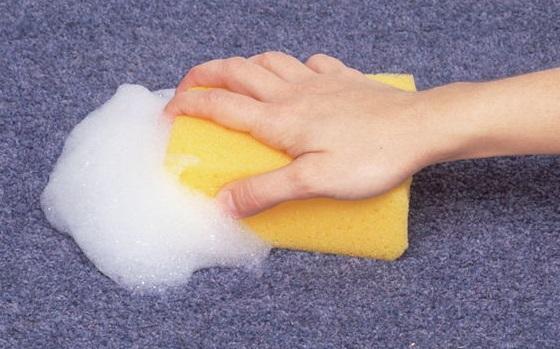 фото правильной губки для чистки паласов