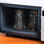 как правильно стерилизовать в микроволновке банки для заготовок