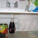 фото льда в холодильной камере