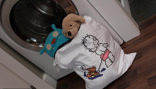 фото как правильно стирать детские игрушки в стиралке