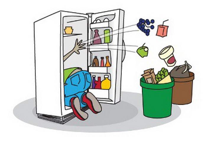 из-за чего в холодильнике появляется запах