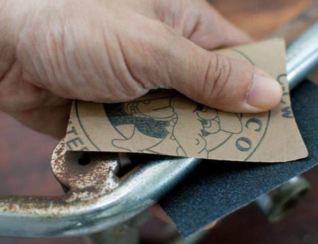 фото как правильно удалять ржавчину с металла