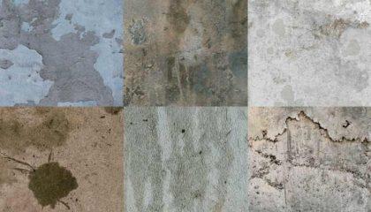 фото грибка плесени на бетоне