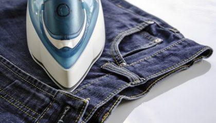 фото правильной глажки джинсов