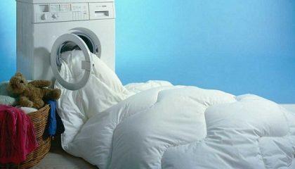 фото как правильно стирать постельное белье