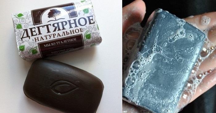 состав и применение дегтярного мыла